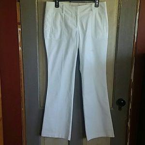 Kenar White Trousers
